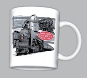 New York Central Triple Header Mug
