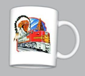 AT&SF (Santa Fe) ALCO PA Mug (Mug 143)
