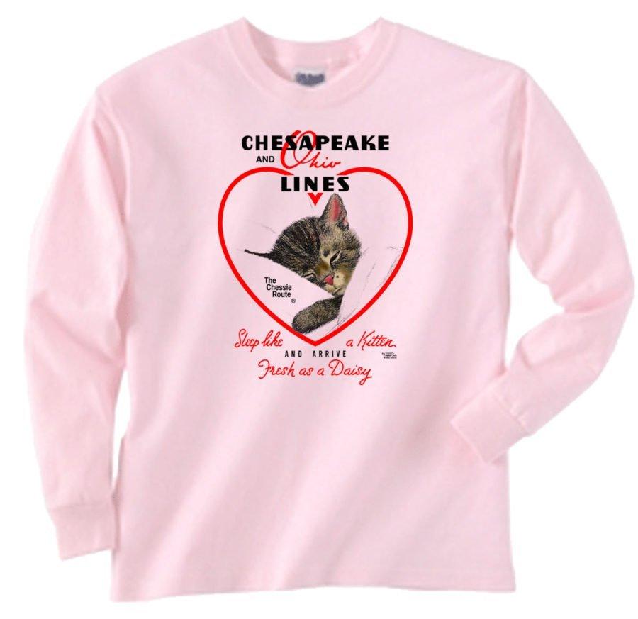 Chessie Hearts and Flowers Sweatshirt