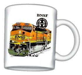 BNSF Heritage II Mug