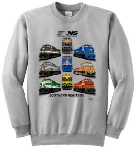 Norfolk Southern Heritage Sweatshirt