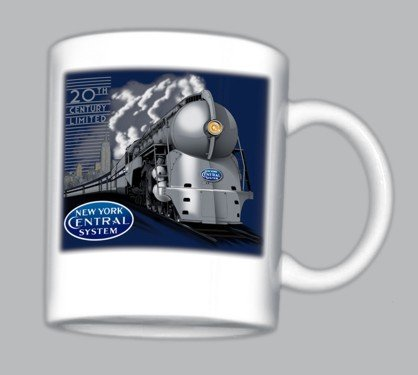 New York Central 20th Century Limited Mug