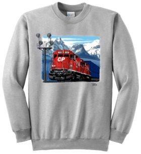 CP Stack Train At Morants Curve Sweatshirt