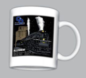 C&O Allegheny at Night Mug (Mug 47)