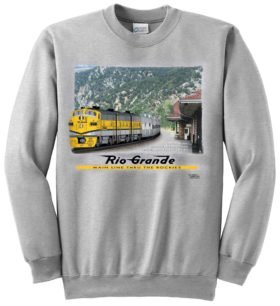 California Zephyr at Glenwood Sweatshirt