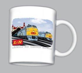 L&N trains at Louisville Mug(mug68)