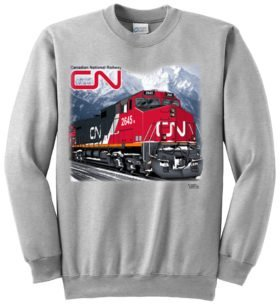 Canadian National C44-9W Sweatshirt