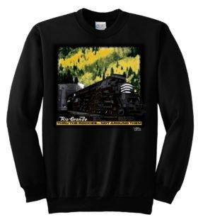 Rio Grande at Moffat Tunnel Sweatshirt