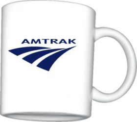 Amtrak Travelmark Logo Mug