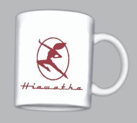 Hiawatha Logo Mug