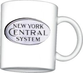 NYC White Logo Mug