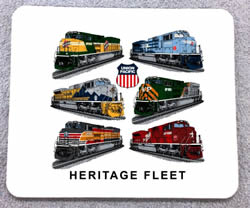 Union pacific mousepad