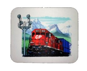 CP Stack Train at Morant's Curve Mousepad (42M)