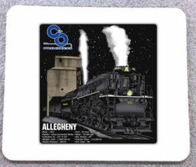 C&O Allegheny at Night Mousepad (47M)
