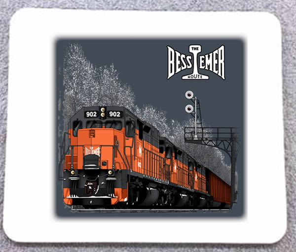 Bessemer and Lake Erie Mousepad (48M)