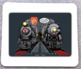 Broadway Twentieth Century Limited at Night Mousepad(50m)