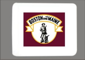 Boston and Maine Mousepad (B&M)