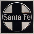 Santa Fe steam era cross