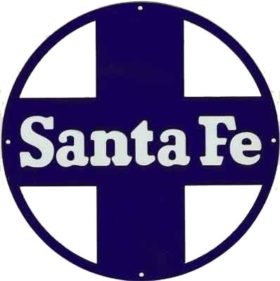 Santa fe blue Cross