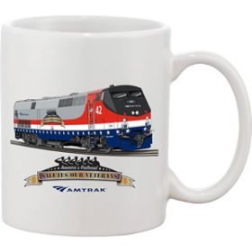 Amtrak Veterans Tribute Mug
