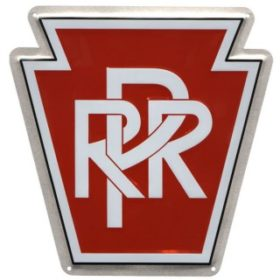 Pennsylvania RR Aluminum Sign
