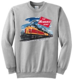 Milwaukee Little Joe  Railroad Sweatshirt [10008]