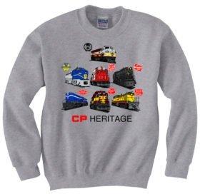 Canadian Pacific Heritage  Sweatshirt [105]