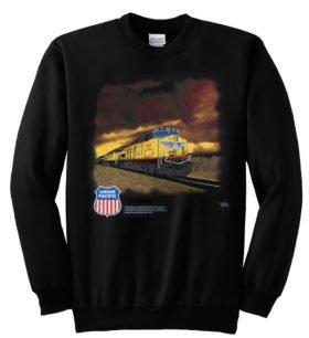 Union Pacific Railroad Stormy Sky Sweatshirt [114]