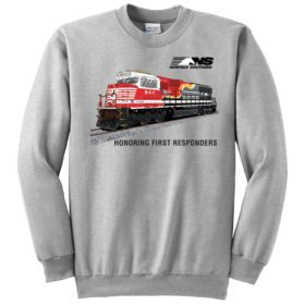 NorfolkSouthern First Responders Tribute Railroad Sweatshirt [117]