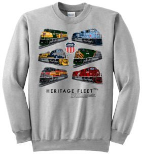 Union Pacific Heritage Fleet  Sweatshirt [12]