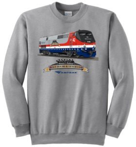 Amtrak Veterans Tribute  Sweatshirt [121]