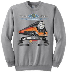Southern Pacific Daylight 75th Anniversary Railroad Sweatshirt [122]