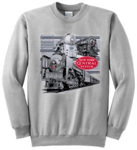 New York Central Triple Header  Sweatshirt [138]