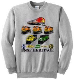 BNSF Heritage  Sweatshirt [14]