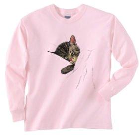 ChessieThe Sleeping Kitten  Sweatshirt [20019]