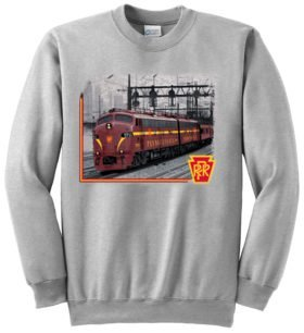 Pennsylvania RR E Units at 39th Street  Sweatshirt