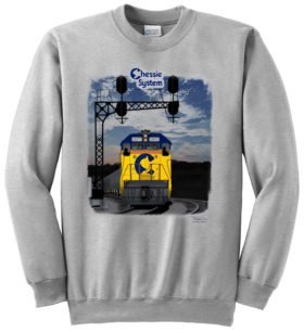 Chessie System Sunset  Sweatshirt [33]