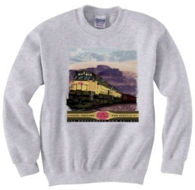 Spokane, Portland and Seattle Alcos inThe Gorge  Sweatshirt [37]
