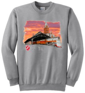 Milwaukee Hiawatha Sunset  Sweatshirt [40]