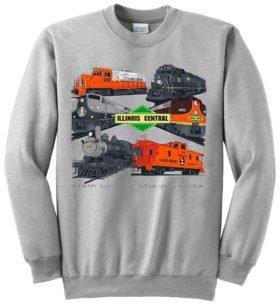 Illinois Central Collage  Sweatshirt [60]