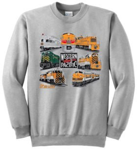 Western PacificLives!  Sweatshirt [62]