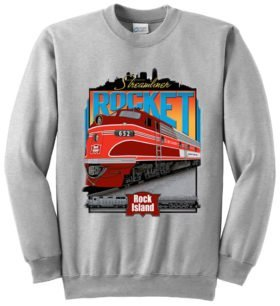 Rock Island Rocket  Sweatshirt [65]