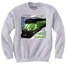 Burlington Northern in Montana  Sweatshirt [82]