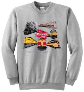 Milwaukee Road Collage  Sweatshirt [88]