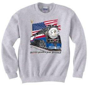 Southern Pacific Daylight 4449 Freedom Train  Sweatshirt [AFT]