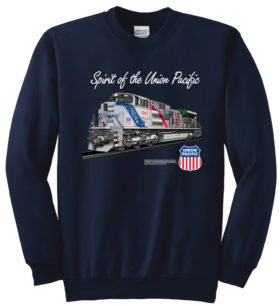 The Spirit ofTheUnionPacific  Railroad Train Sweatshirt [137]