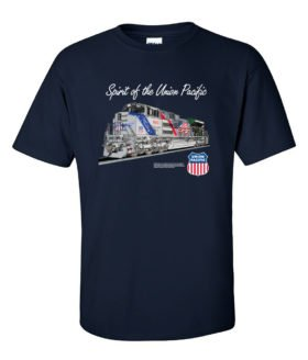The Spirit of the Union Pacific Railroad Train t-shirt [137]