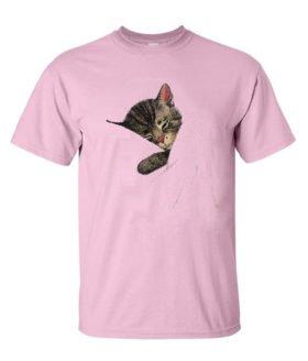 Chessie the Sleeping Kitten Authentic Railroad T-Shirt [20019]