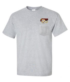 AT&SF Santa Fe Chief Embroidered Pocket Tee