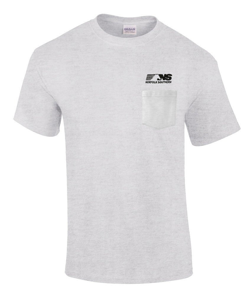 Norfolk Southern Thoroughbred Logo Embroidered Pocket Tee [p68]